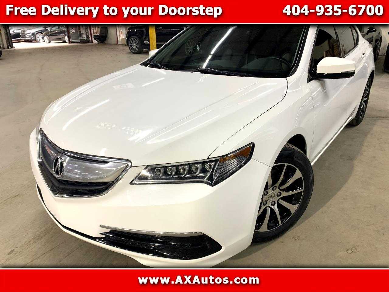 Acura TLX 8-Spd DCT w/Technology Package 2015