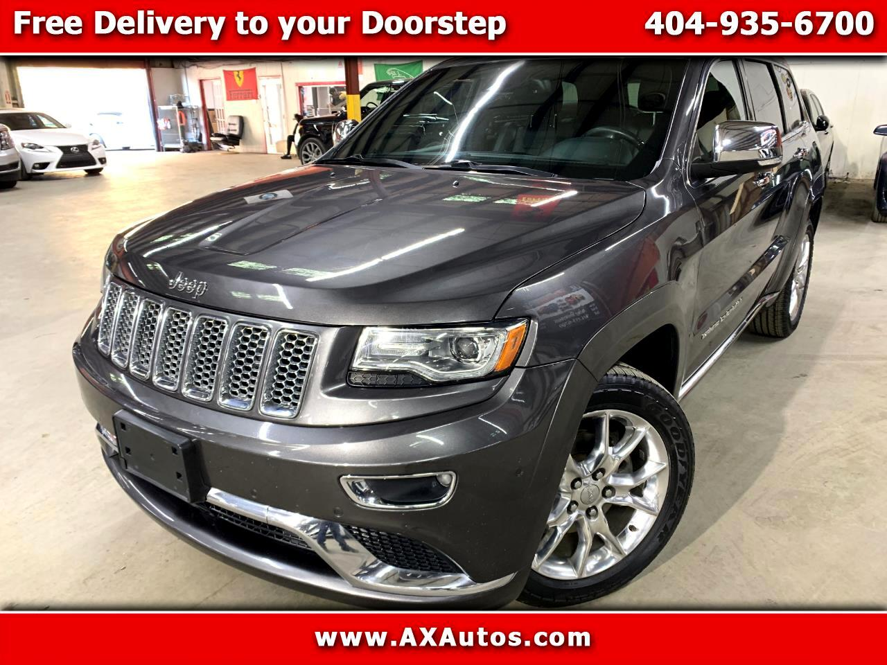 Jeep Grand Cherokee Summit 4WD 2014