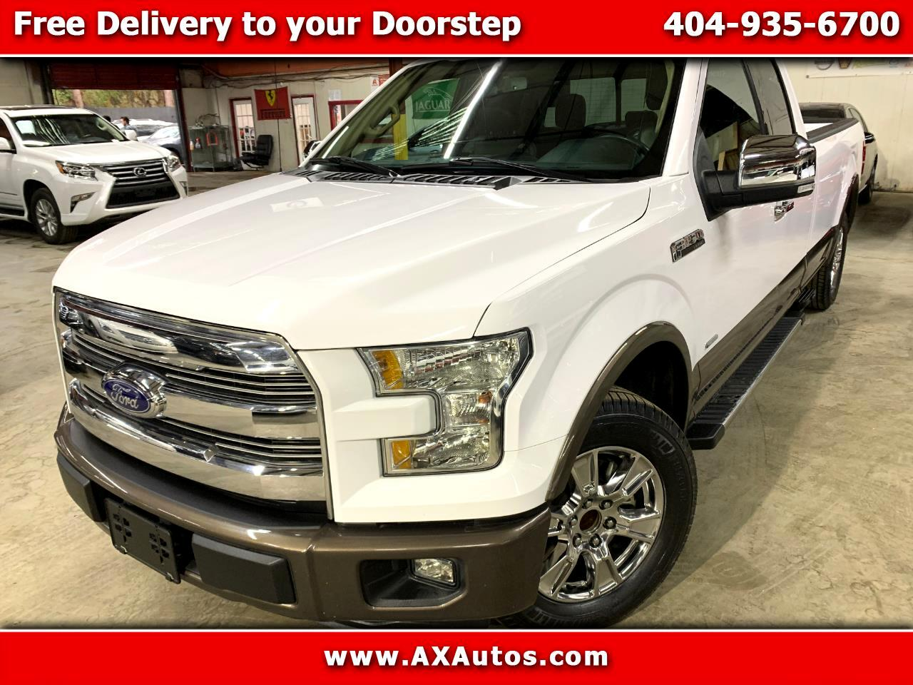 Ford F-150 Lariat SuperCab 8-ft. 2WD 2016