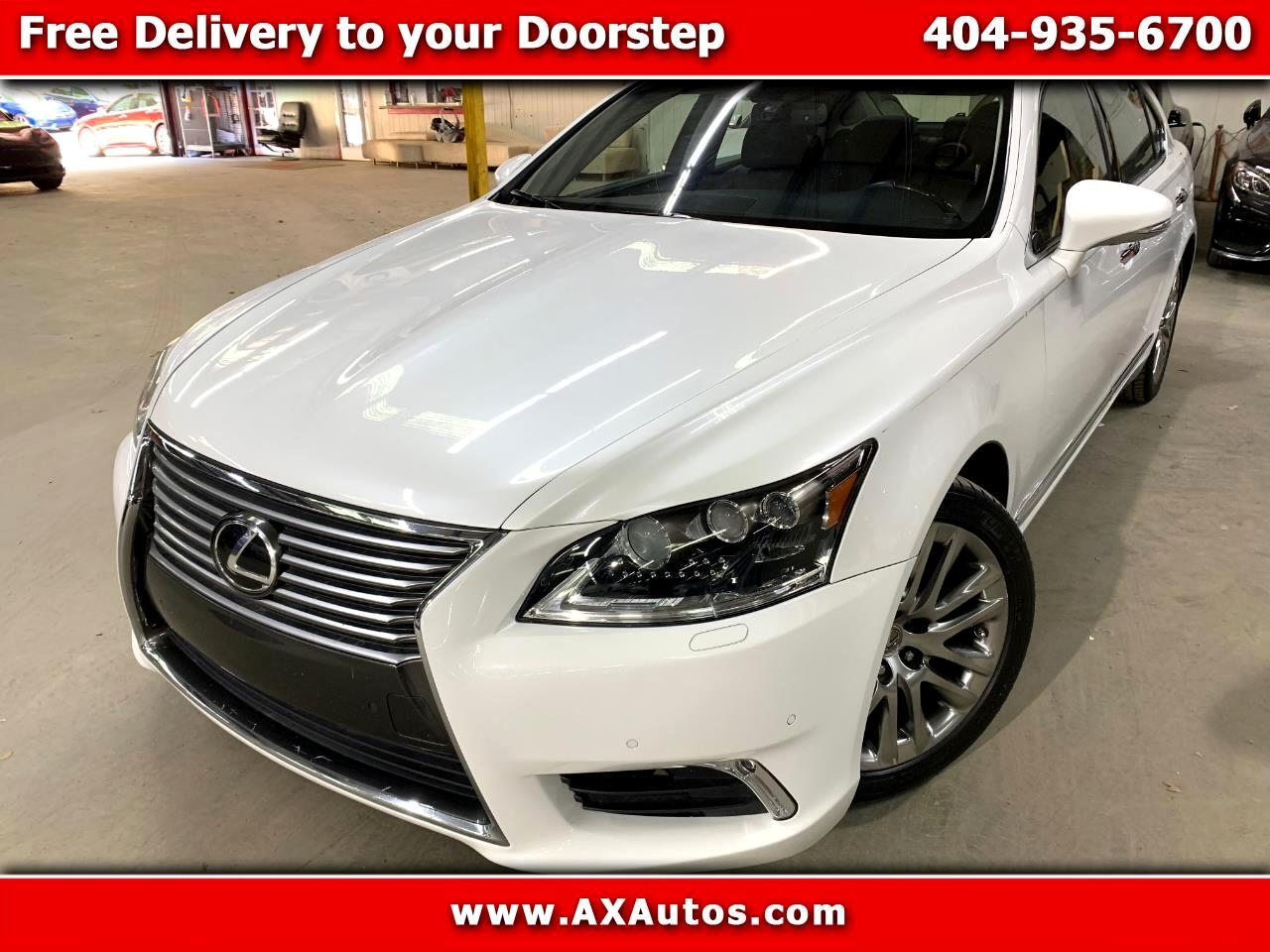 Lexus LS 460 L Luxury Sedan 2014