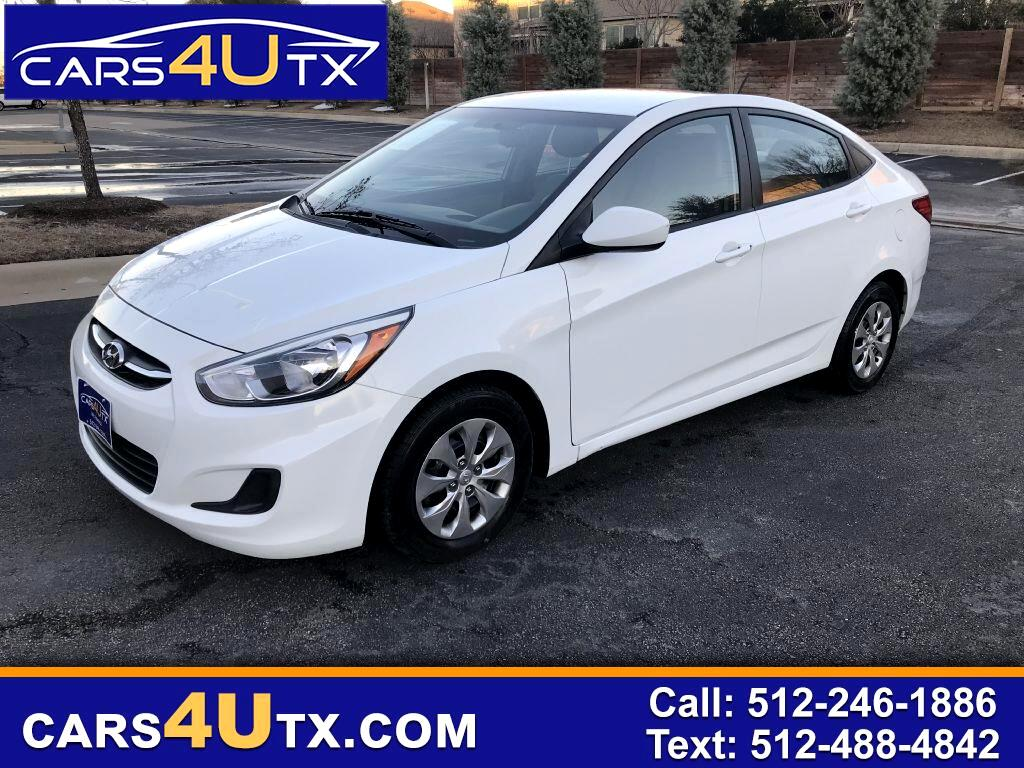 Hyundai Accent SE Sedan Auto 2016