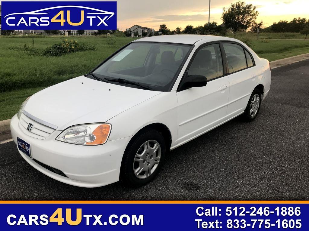 Honda Civic LX sedan 2002