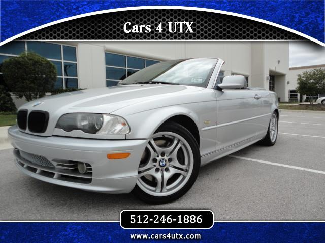 BMW 3-Series 330Ci convertible 2002