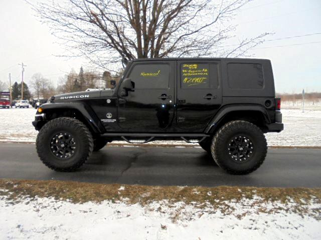2008 Jeep Wrangler 4WD 4dr Unlimited Rubicon