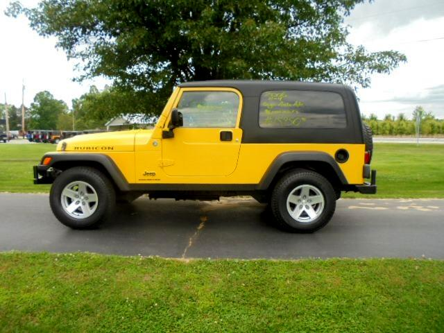 2006 Jeep Wrangler 2dr Unlimited Rubicon LWB