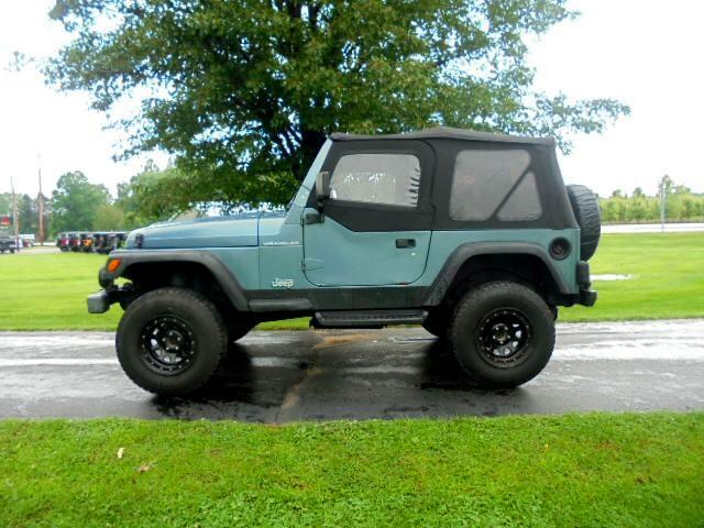 1997 Jeep Wrangler 2dr SE
