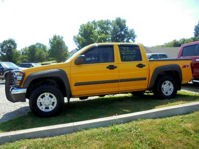 """Chevrolet Colorado Crew Cab 126.0"""" WB 4WD LT w/3LT 2006"""