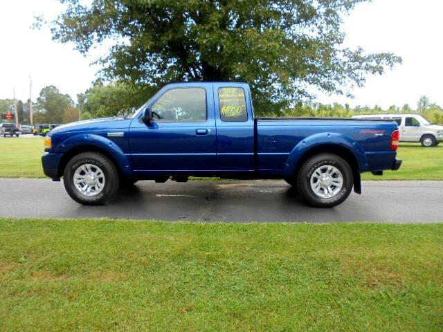 """2010 Ford Ranger 4WD 4dr SuperCab 126"""" XLT"""