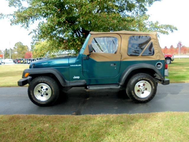 Jeep Wrangler 2dr SE 1997