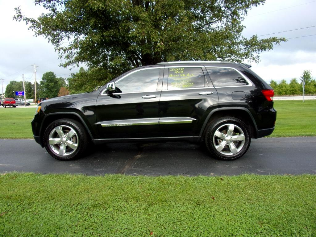 Jeep Grand Cherokee 4WD 4dr Limited 2012