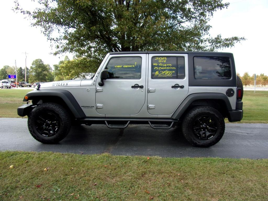Jeep Wrangler Unlimited 4WD 4dr Willys Wheeler 2015