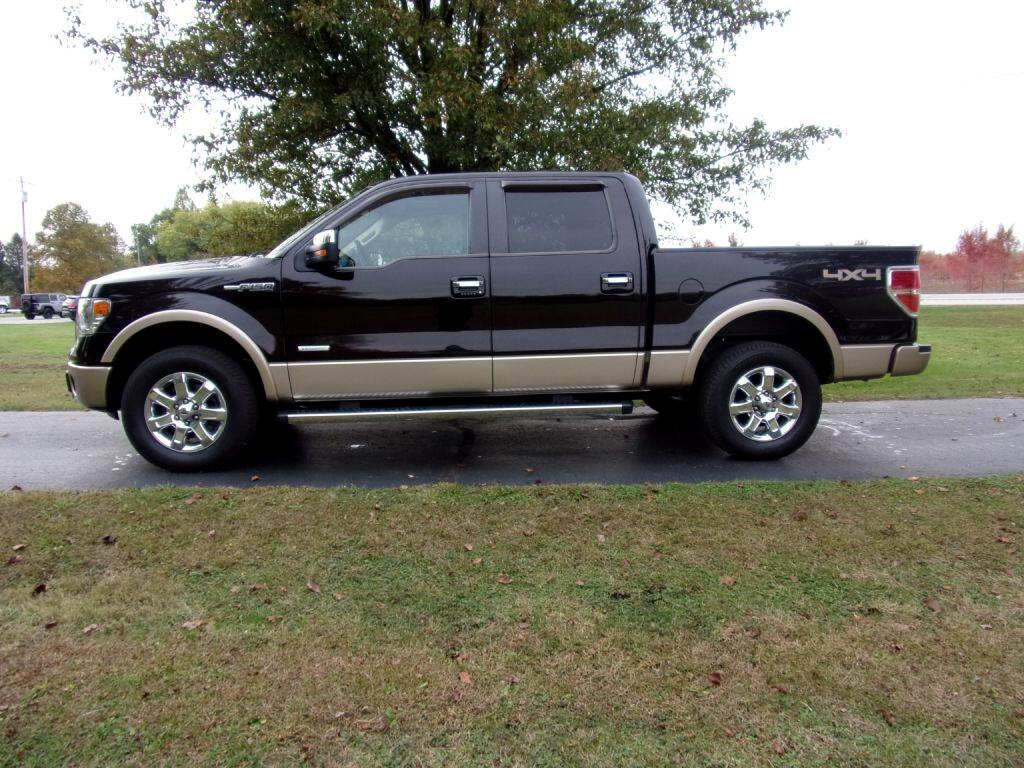 Ford F-150 Lariat SuperCrew 4WD 2013