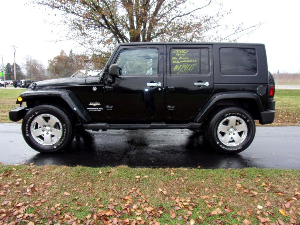 Jeep Wrangler Unlimited 4WD 4dr Sahara 2010