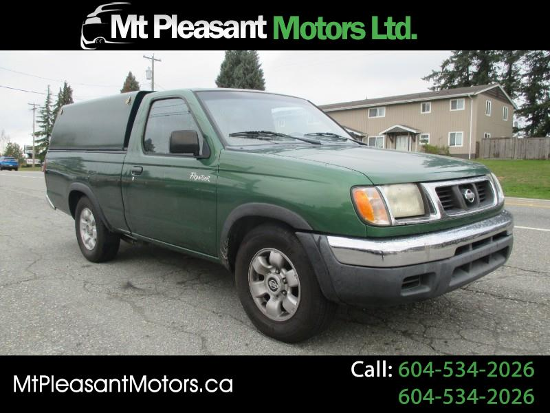 1998 Nissan Frontier Regular Cab 2WD Canopy
