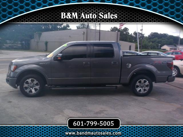 "2012 Ford F-150 2WD SuperCrew 150"" FX2"
