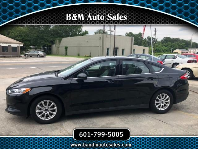 2015 Ford Fusion 4dr Sdn I4 S FWD