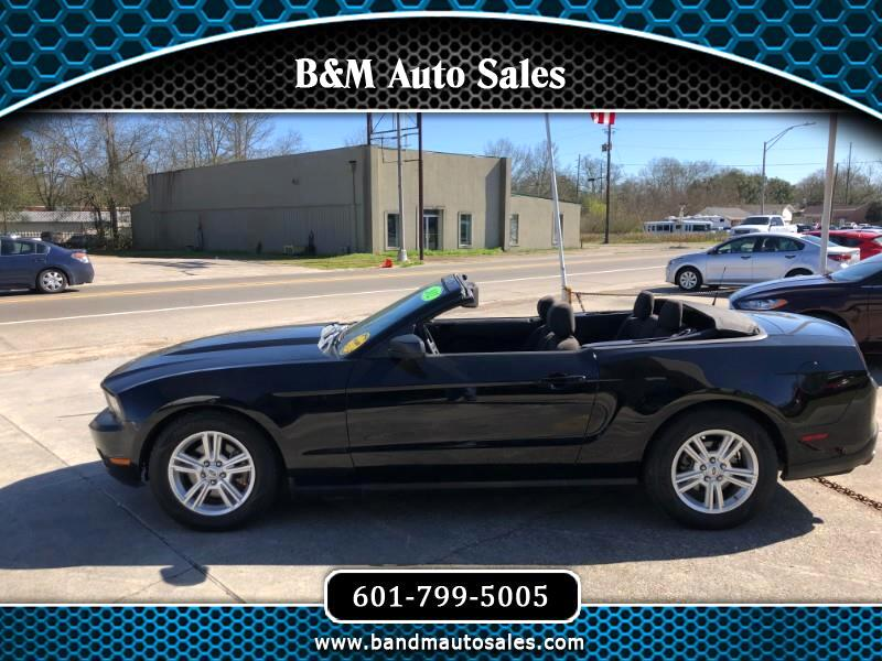 2012 Ford Mustang V6 Convertible