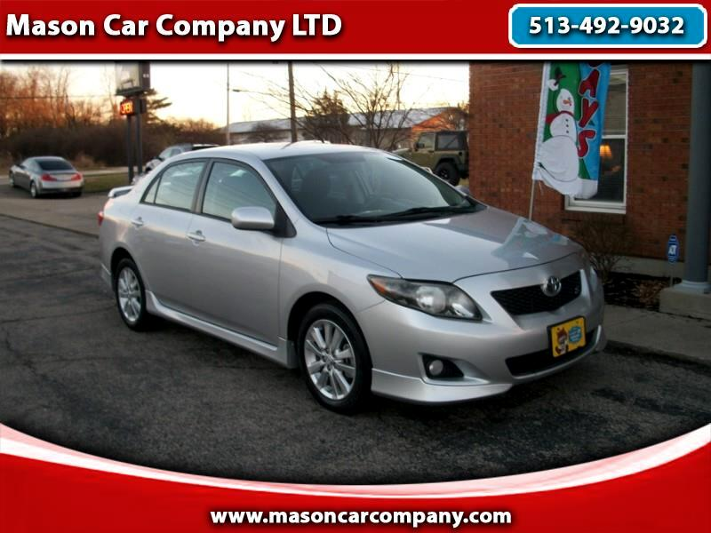 2010 Toyota Corolla S 4-Speed Automatic