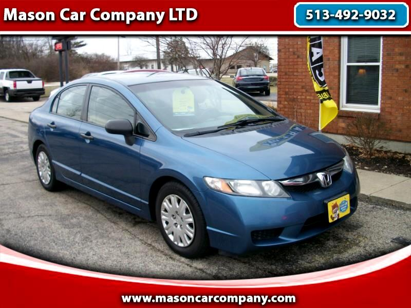 2011 Honda Civic DX-VP Sedan Automatic
