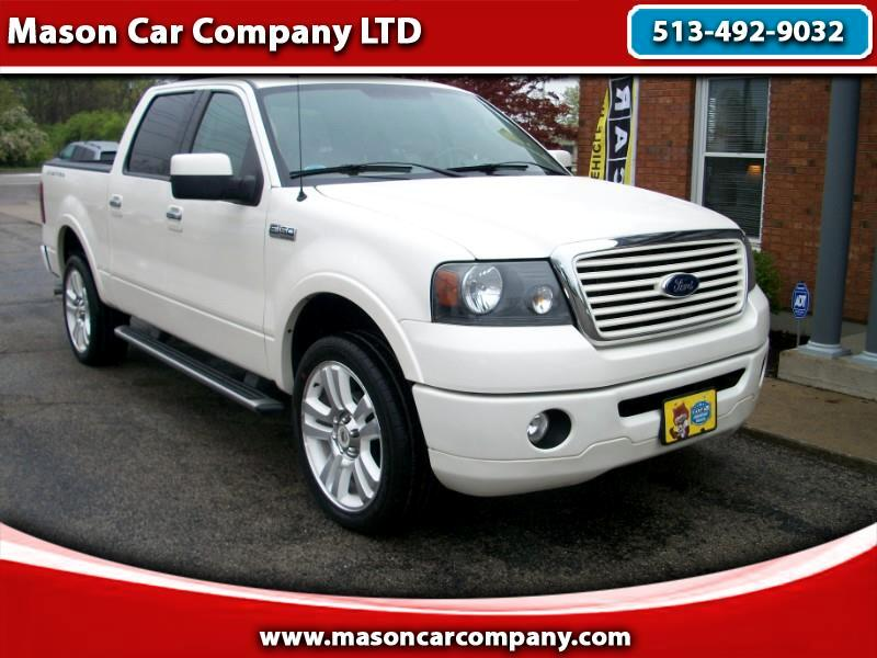 2008 Ford F-150 Larriat Limited SuperCrew 4WD
