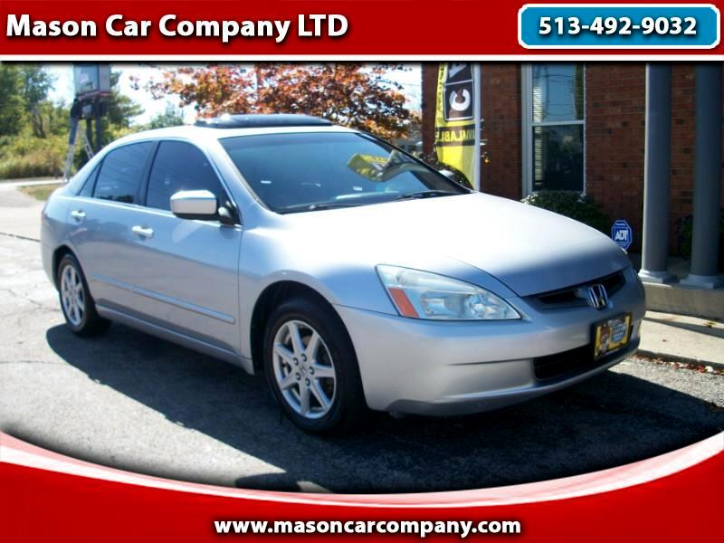2004 Honda Accord EXL V6 Leather
