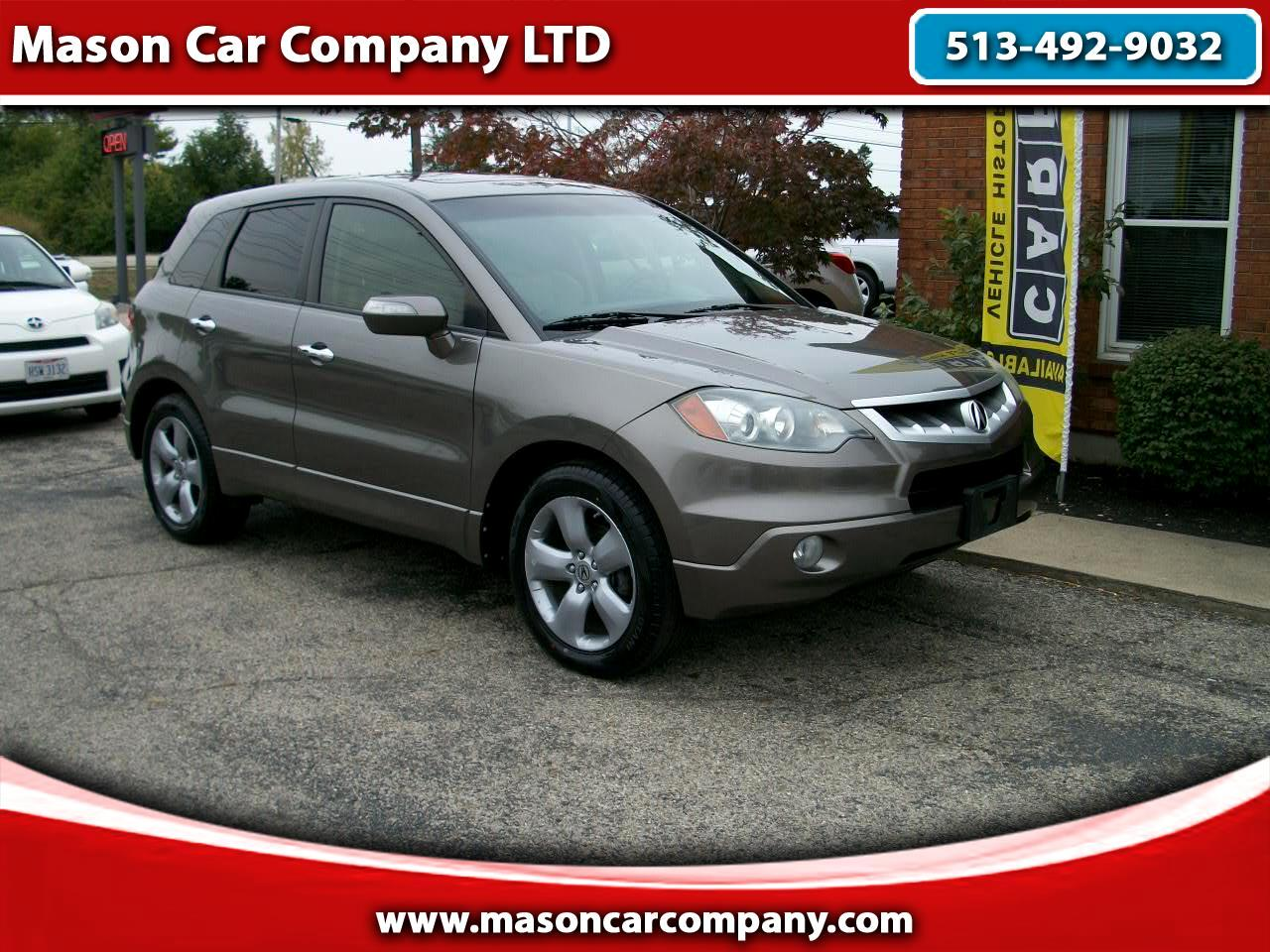 Used 2008 Acura Rdx 5 Spd At With Technology Package For Sale In Mason Oh 45040 Mason Car Company Ltd