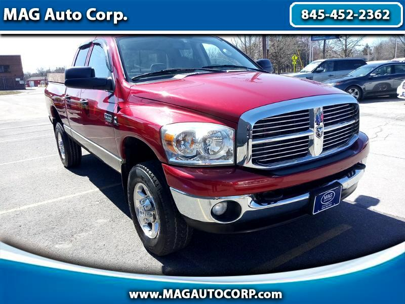 2009 Dodge Ram 3500 SLT Quad Cab Long Bed 4WD