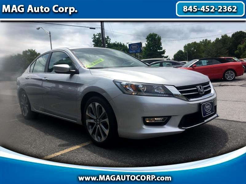 Honda Accord Sedan 4dr I4 CVT Sport 2013