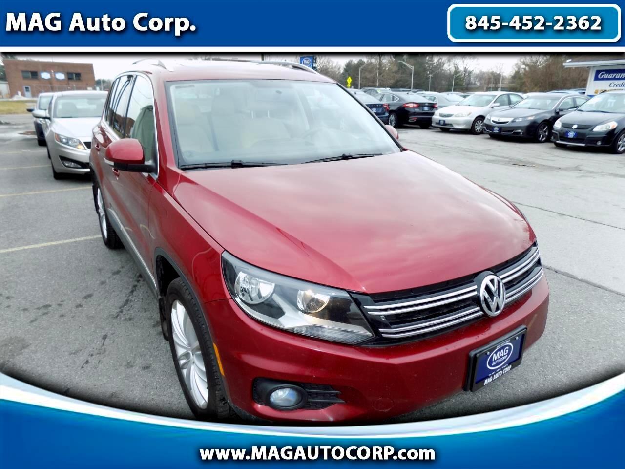Volkswagen Tiguan 2.0T SEL Premium 4MOTION 2013