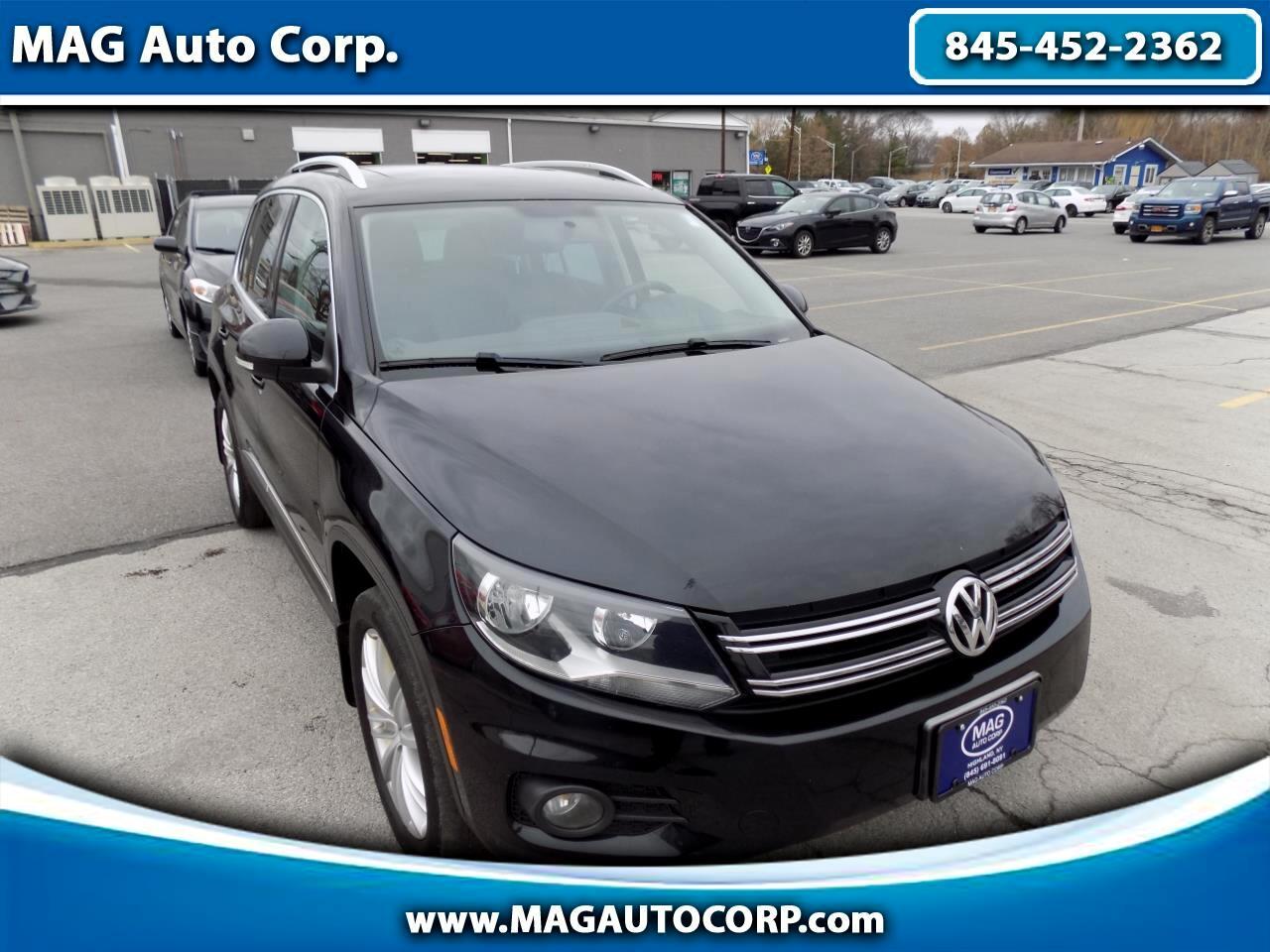 Volkswagen Tiguan 2.0T SEL 4MOTION 2012