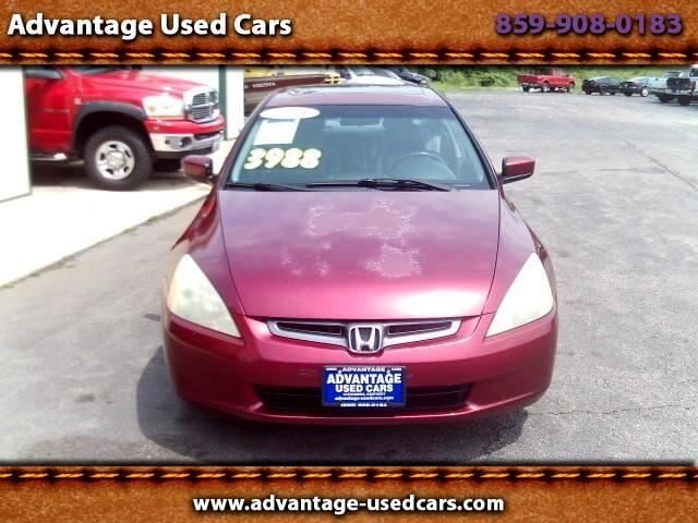 2005 Honda Accord EX-L Sedan AT with XM Radio