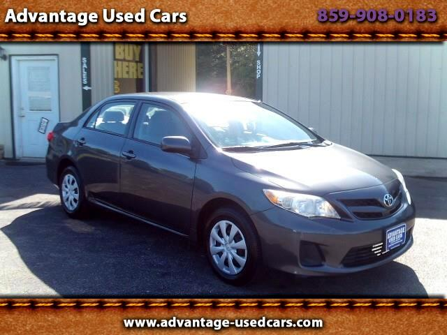 2011 Toyota Corolla LE 4-Speed AT