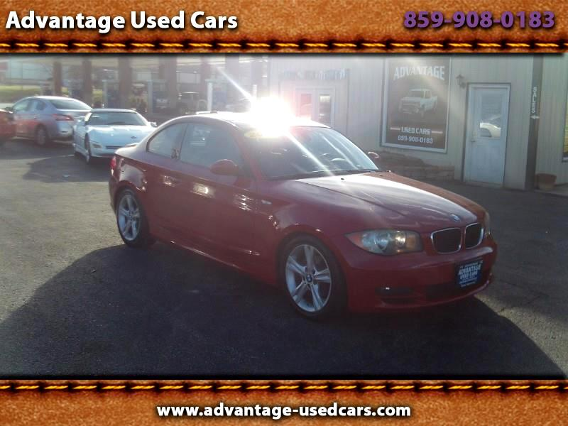 2009 BMW 1-Series 128i Coupe
