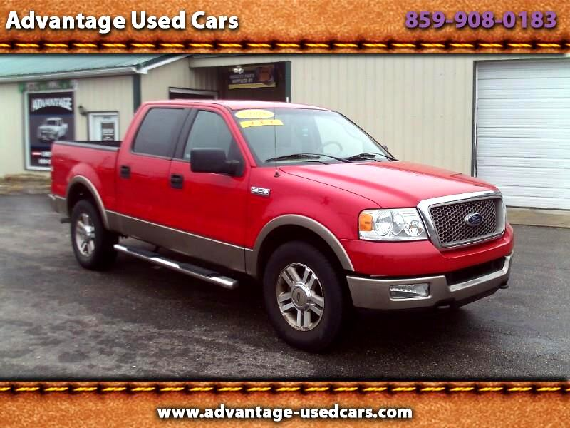 "2005 Ford F-150 4WD SuperCrew 145"" Lariat"