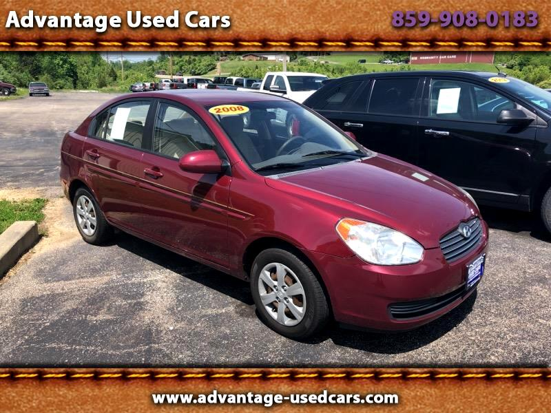 2008 Hyundai Accent GLS 4-Door