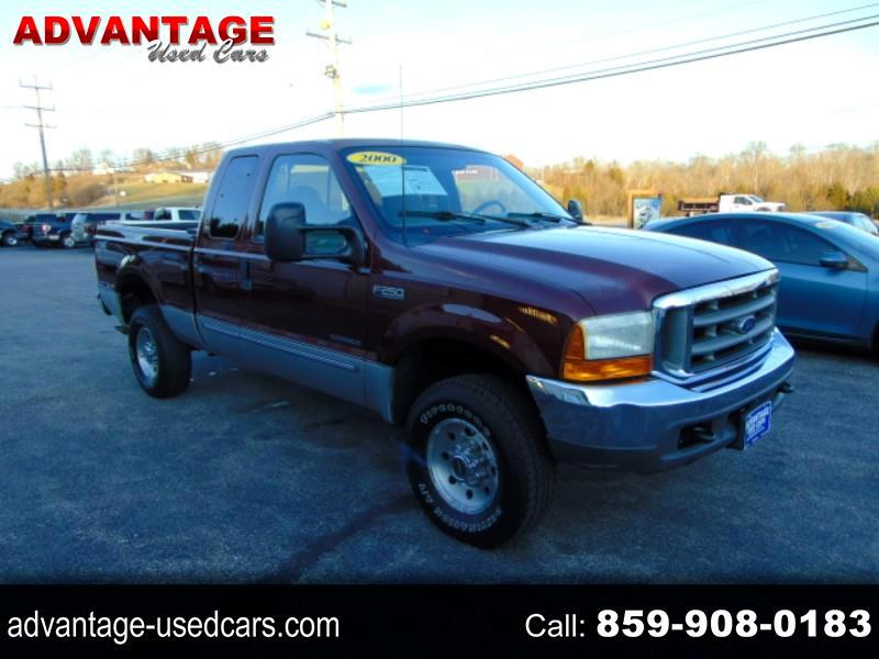 Ford F-250 SD XLT SuperCab Short Bed 4WD 2000