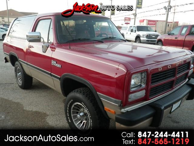 1992 Dodge Ram Charger Canyon Sport 4WD