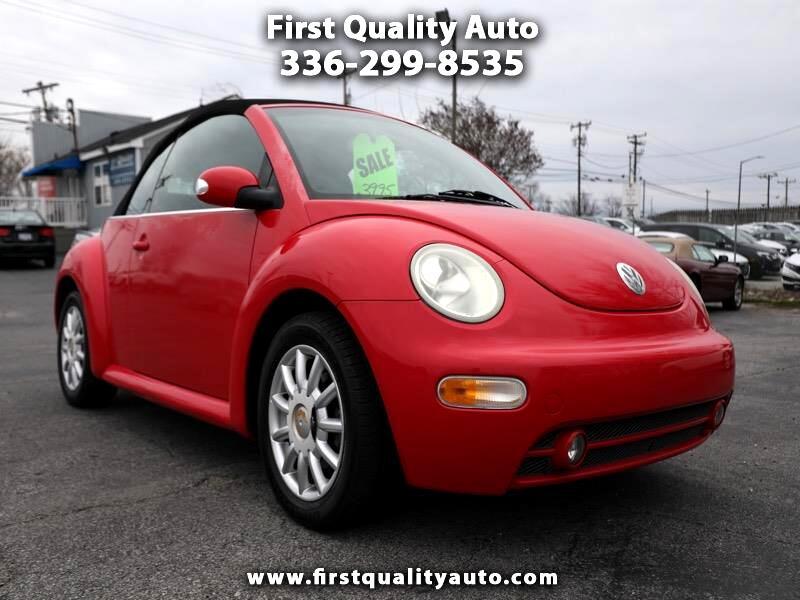 2004 Volkswagen New Beetle GLS 2.0L Convertible