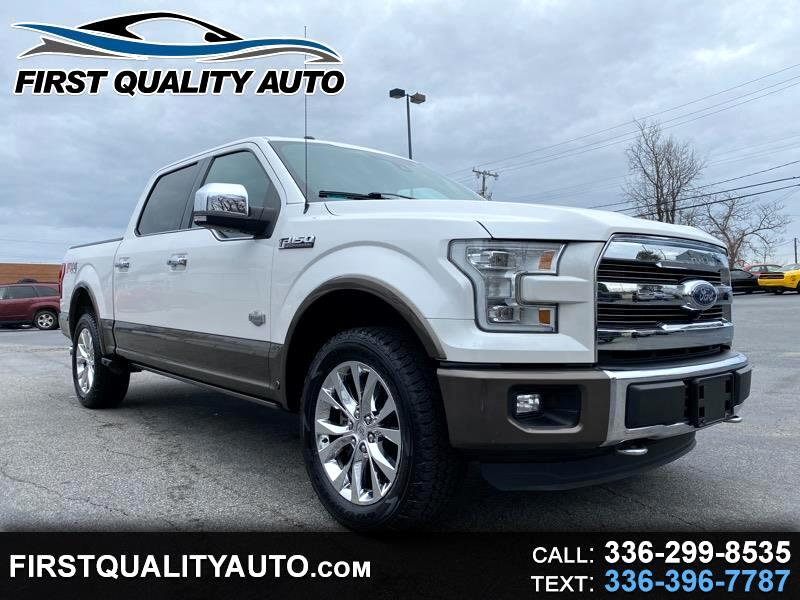 "Ford F-150 4WD SuperCrew 139"" King Ranch 2016"