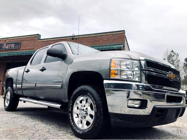 2013 Chevrolet Silverado 2500HD LT Crew Cab Long Box 4WD