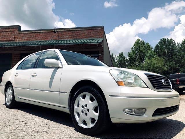 2003 Lexus LS 430 Sedan