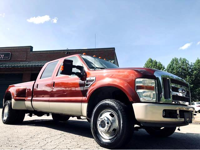 Ford F-350 SD Lariat Crew Cab Long Bed DRW 4WD 2008