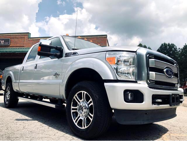 2014 Ford F-250 SD Platinum