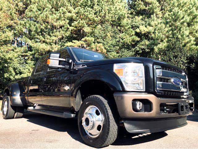 Ford F-350 SD King Ranch Crew Cab Long Bed DRW 4WD 2015