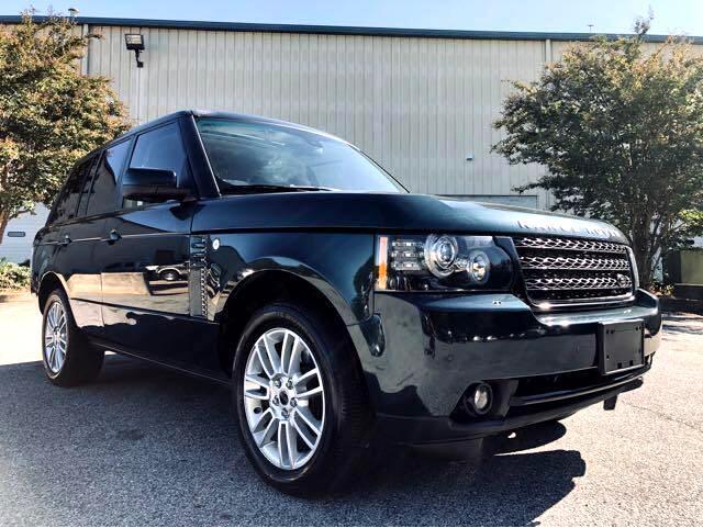 Land Rover Range Rover HSE 2012