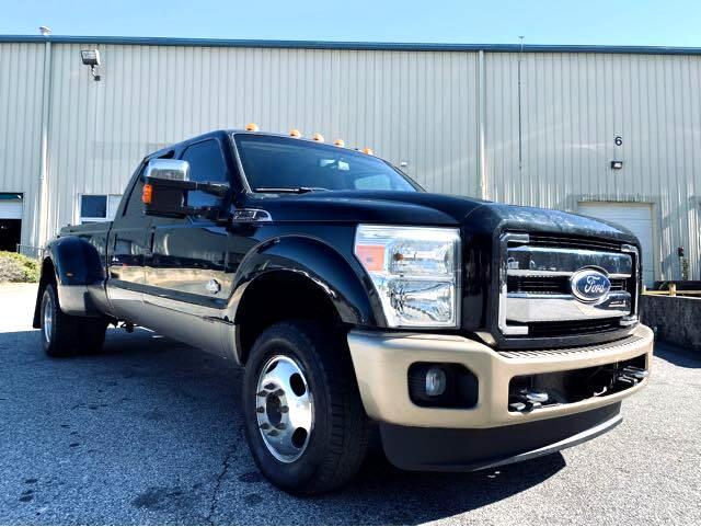 Ford F-350 SD King Ranch Crew Cab Long Bed DRW 4WD 2011