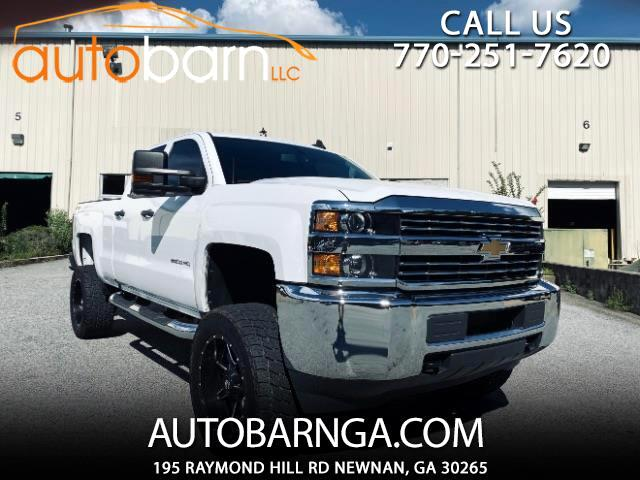 Chevrolet Silverado 2500HD Work Truck Double Cab 4WD 2017