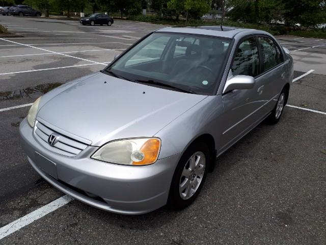 2003 Honda Civic LX Sedan 4-spd AT with Front Side Airbags