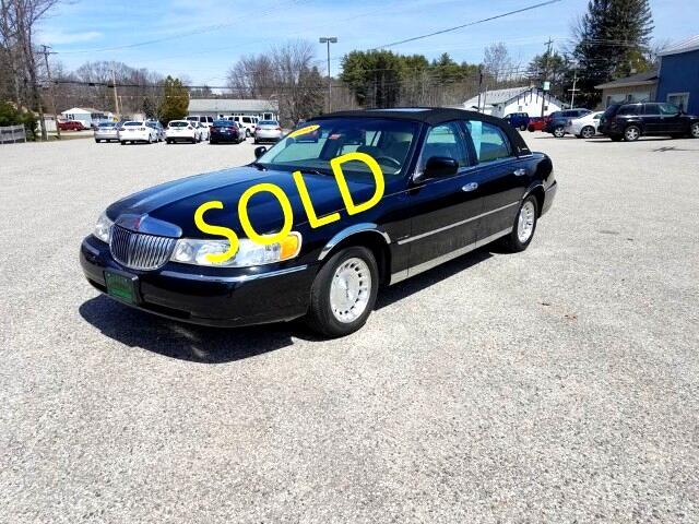 1998 Lincoln Town Car Presidential