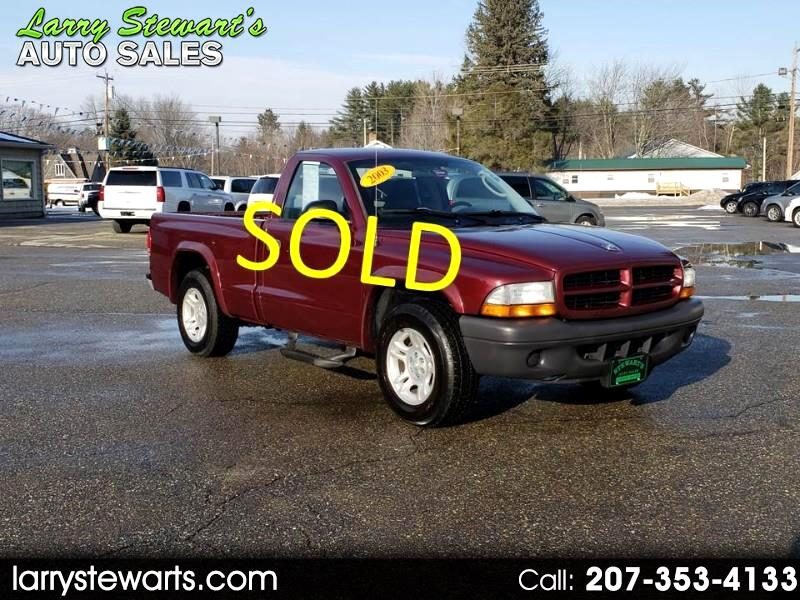 2003 Dodge Dakota 2dr Reg Cab 112